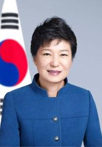 Präsidentin Park Geun-hye