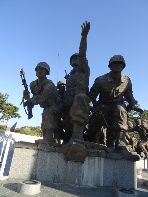 Statues Defending the Fatherland