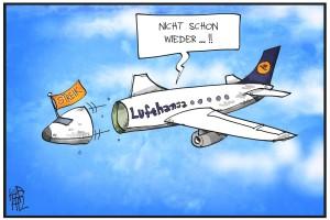 Die Piloten der Lufthansa streiken erneut.